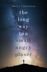 Book cover: A Long Way to a Small Angry Planet