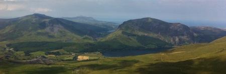 View from Yr Wyddfa