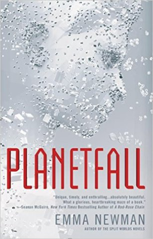 Book cover: Planetfall