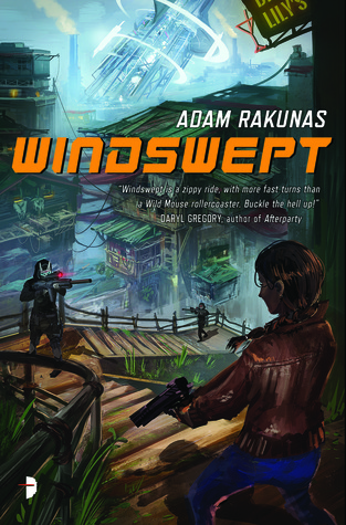 Book cover: Windswept - Adam Rakunas