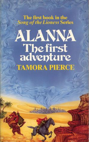 Book cover: Alanna - The First Adventure - Tamora Pierce 1st UK Ed