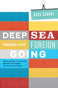 Book cover: Deep Sea and Foreign Going (Colourful shipping containers tiled)
