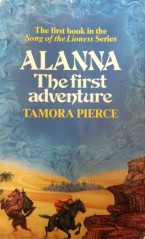 Book cover: Alanna The First Adventure