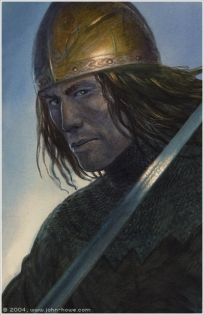 Aragorn - painting by John Howe