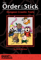 Book cover: Order of the Stick: Dungeon Crawlin Fools - Rich Burlew