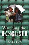 Book cover: Watching the English - Kate Fox