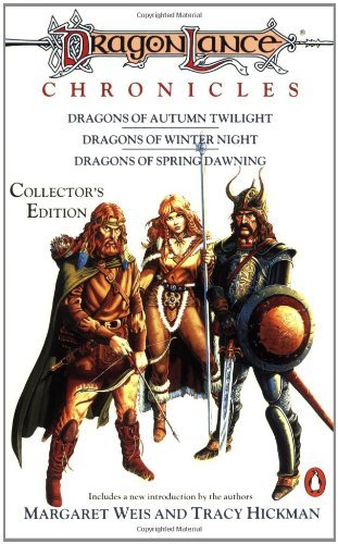 Book cover: Dragonlance Chronicles collected edition by Weis and Hickman