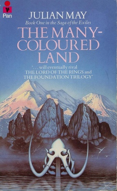 Book cover: The Many-colored Land by Julian May