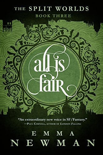 Book cover: All Is Fair - Emma Newman (text treatment)
