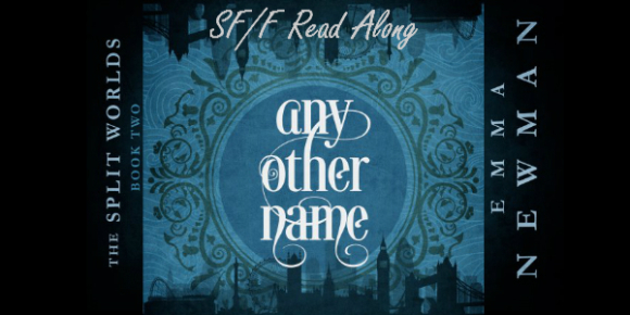 Book art: Any Other Name - Emma Newman text-only banner