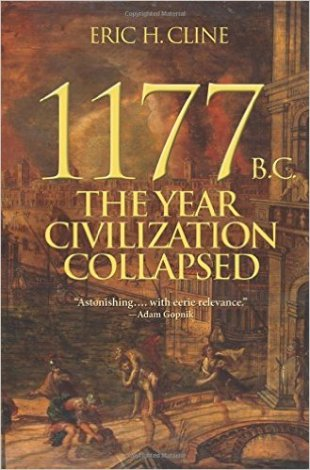 Book cover: 1177BC The Year Civilization Collapsed