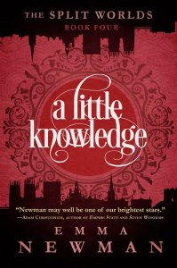 Book cover: A Little Knowledge - Emma Newman