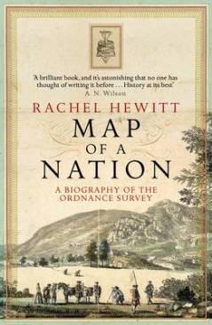Book cover: Map of a Nation - Rachel Hewitt