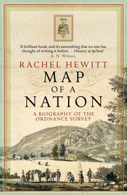 Book cover: Map of a Nation - Rachel Hewitt