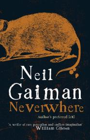 Book cover: Neverwhere - Neil Gaiman