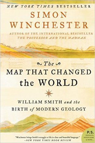 Book cover: The Map That Changed the World - Simon Winchester