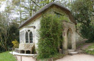 Gothic Cottage at Stourhead - all rights Derek Voller