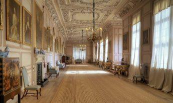 The Long Gallery, Sudbury Hall - all rights David Dixon