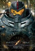 Movie poster: Pacific Rim (Gypsy Danger jaeger)