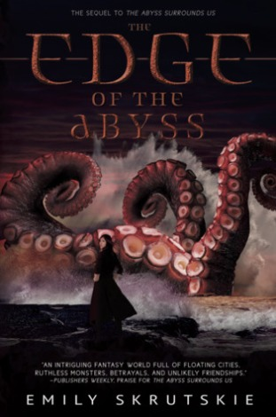 Book cover: The Edge of the Abyss - Emily Skrutskie