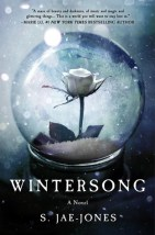 Book cover: Wintersong - S Jae-Jones (a white rose in a glass ball)
