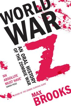 Book cover: World War Z (an oral history of the zombie war) - Max Brooks (text only)