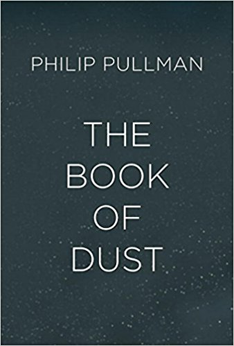 Book cover: The Book of Dust - Philip Pullman (text only)