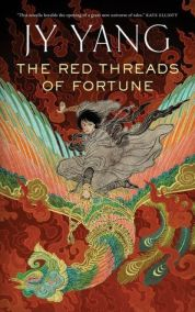 Book cover: The Red Threads of Fortune - J Y Yang