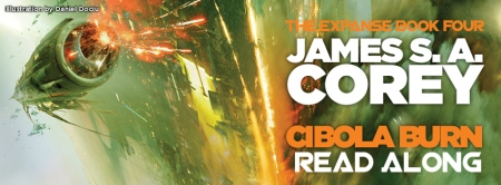 Cibola Burn - The Expanse read-along (background fro cover art, explosions in space)