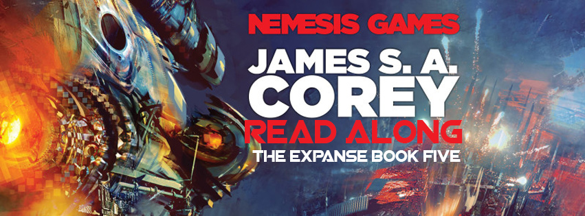 Banner - The Expanse / Nemesis Games Read-along