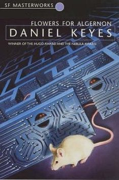 Book cover: Flowers for Algernon - Daniel Keyes