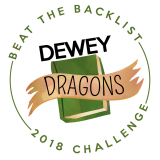 Graphic: Beat the Backlist 2018 Challenge - Dewey Dragons