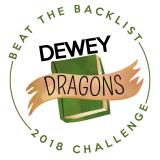 Graphic: Beat the Backlist 2018 Challenge - Dewey Dragons