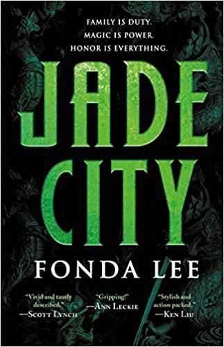 Book cover: Jade City - Fonda Lee