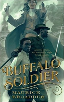 Book cover: Buffalo Soldier - Maurice Broaddus