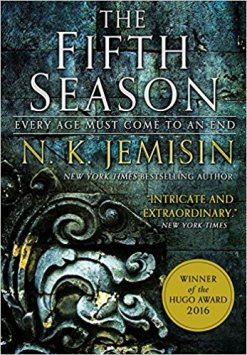 Book cover: The Fifth Season - NK Jemisin