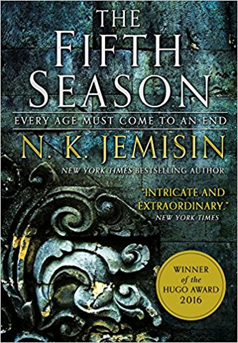 Book cover: The Fifth Season - NK Jemisin