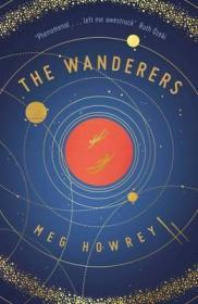 Book cover: The Wanderers - Meg Howrey (planetary orbits)