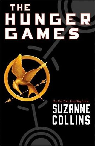 Book cover: The Hunger Games - Suzanne Collins