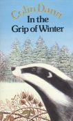 Book cover: In the Grip of Winter - Colin Dann (Badger in the snow)