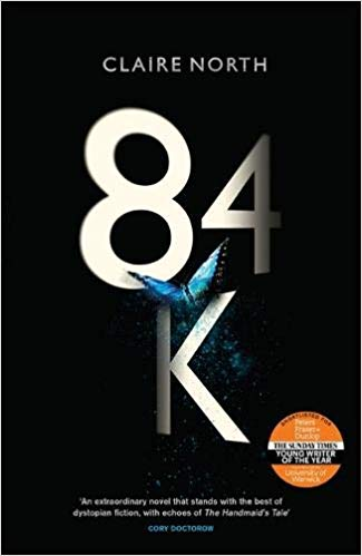 Book cover: 84k - Claire North