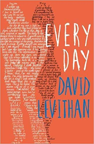 Book cover: Every Day - David Levithan