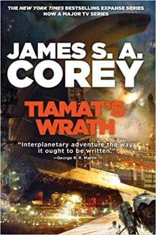 Book cover: Tiamat's Wrath - James S A Corey