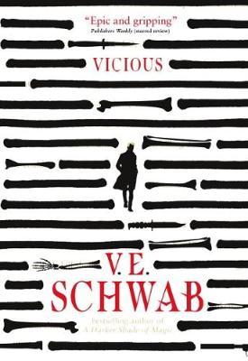Book cover: Vicious - V E Schwab