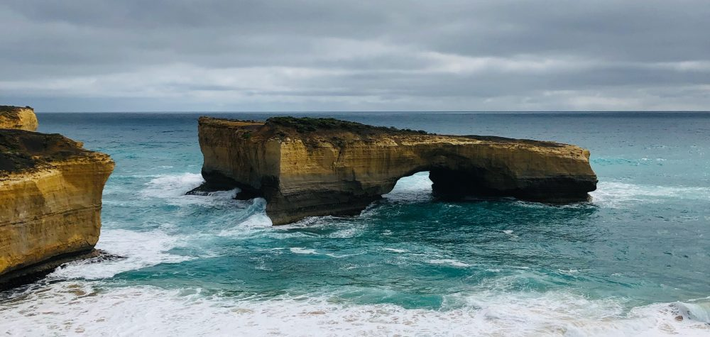 London Bridge - geological formation, southern coast of Australia