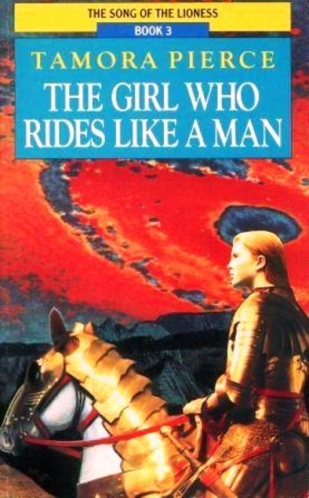 Book cover: The Girl Who Rides Like A Man - Tamora Pierce