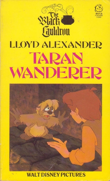 Book cover: Taran Wanderer - Lloyd Alexander Disney edition