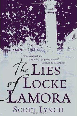 Book cover: The Lies of Locke Lamora - Scott Lynch
