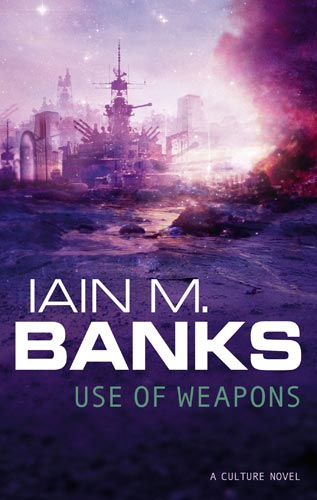 Book cover: Use of Weapons - Iain M Banks 3rd Ed