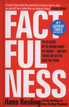Book cover: Factfulness - Hans Rosling